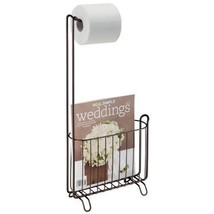 Toilet Tissue Paper Holder Stand Rack Magazine ... - $27.50
