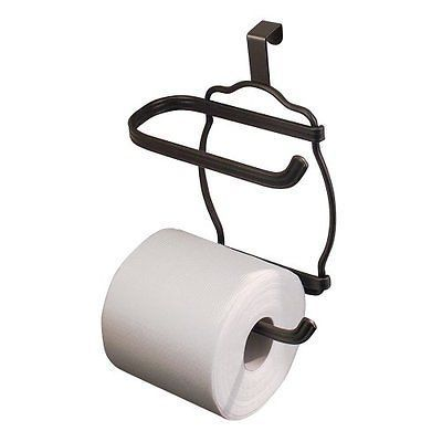 NEW Tank Toilet Tissue Paper Roll Holder Rack Steel Organizer Dispenser Bathroom