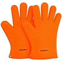 InspiraNova Heat Resistant Silicone BBQ Gloves for Baking, Cooking, Gril... - $20.92