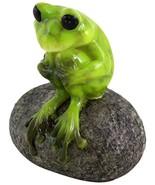 Top Collection 1.75-Inch Miniature Fairy Garden and Terrarium Cute Frog ... - $20.80