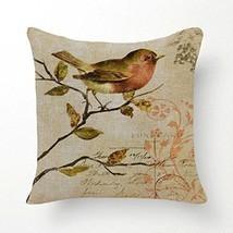 SLS Cotton Linen Decorative Throw Pillow Case C... - $18.60