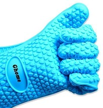 Ghome Extra Thick Cooking Gloves Heat Resistant Use As Silicone BBQ Glov... - $18.60