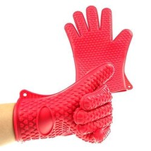 Pard Silicone Oven Mitts, FDA Pot Holder for Cooking, Baking, Barbeque (... - $16.30