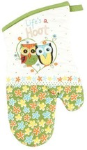 NEW Kay Dee Designs Cotton Oven Mitt, Life's A Hoot HOME/Kitchen - $16.30