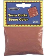 Patio Lawn Midwest Products Stepping Stone Cement Mix Pigment, Terra Cotta - $14.09