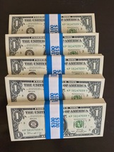 500 Prop Money Replica 1s New Style Full Print For Movie Video Etc. 5 Stacks - $95.99