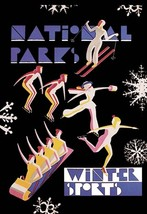 National Park's Winter Sports by Dorothy Waugh - Art Print - $19.99+