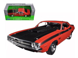 1970 Dodge Challenger T/A Orange 1/24 Diecast Model Car by Welly - $34.95