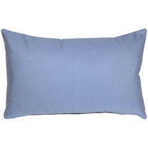 Pillow Decor - Sunbrella Air Blue 12x19 Outdoor Pillow - £26.77 GBP