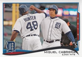 Miguel Cabrera 2014 Topps Update Baseball Highlights Checklist Card #US-300 - $0.99