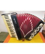 120 Bass Enrico Roselli Accordion Red Ladies Ac... - $700.00