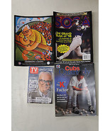 Cubs Magazine / Publication Lot 4 Harry Caray commemorative TV Guide Woo... - $24.74