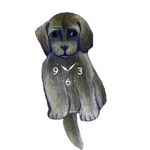 Tibetan Terrier Dog Wagging Pendulum Clock - $41.99