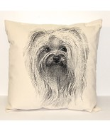Yorkie Decorative Pillow Large - $65.00
