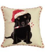 Christmas Black Lab Decorative Pillow - $110.00