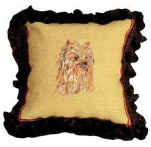 Yorkie Decorative Pillow - $2.024,68 MXN