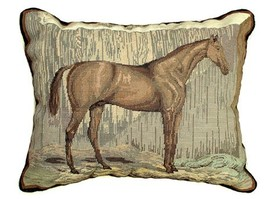 Pete 16x20 Petit Point Needelpoint Pillow - $190.00