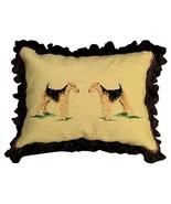 Airedale Decorative Pillow - $170.00