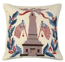 Monument Flags Decorative Pillow - $140.00