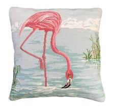 Flamingo in Water Decorative Pillow - $140.00