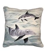 Dolphins Decorative Pillow - $140.00