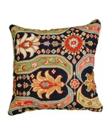 Afshar 18x18 Needlepoint Decorative Pillow - $140.00