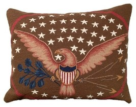 Eagle and Shield Decorative Pillow - $150.00