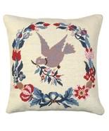 Dove Wreath Decorative Pillow - $140.00