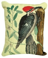 Woodpecker Pileated Decorative Pillow - $140.00