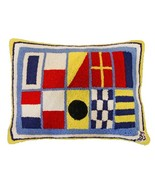 Nautical Shore Thing 16x20 Hooked Pillow - $60.00
