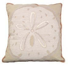 Sand Dollar Decorative Pillow - ₨9,376.55 INR