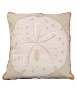 Sand Dollar Decorative Pillow - $2.637,25 MXN