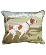 Pointer in the Field Decorative Pillow - $140.00