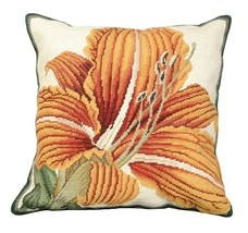 Day Lily Decorative Pillow - $140.00