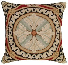 Neogothic 18x18 Needlepoint Pillow NCU-43 - $140.00