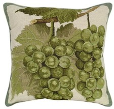 Green Grapes - Helene Verin Pillow - $150.00