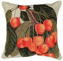 14 Orange Cherries - Helene Verin Pillow - $140.00