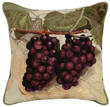Purple Grapes - Helene Verin Pillow - $150.00