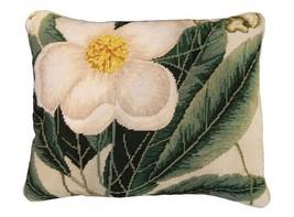 Cherokee Rose 16 x 20 Needlepoint Pillow - $140.00