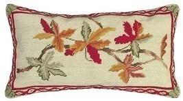 Autumn 12x21 Needlepoint Pillow - £79.99 GBP