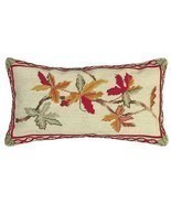 Autumn 12x21 Needlepoint Pillow - $143.73 CAD