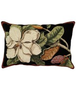 Magnolia 18 x 28 Needlepoint Pillow NCU-100 - $190.00
