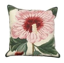 Syrian Hibiscus Decorative Pillow - $140.00