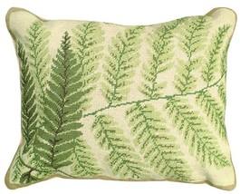 Fern - Helene Verin 16X20 Needlepoint Pillow NCU-82 - $140.00
