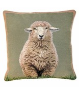 Standing Sheep 18x18 Needlepoint Pillow - $140.00