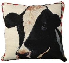 Holstein Cow Decorative Pillow - $160.00