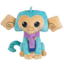"""Nat Geo's Animal Jam  6"""" Turquoise Monkey Plush - $9.99"""