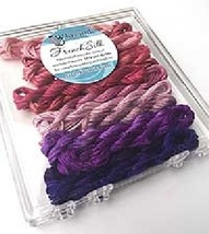 Berry French Silk Set Limited Edition Collection cross stitch Kreinik  - $19.80