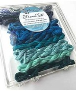 Blue French Silk Set Limited Edition Collection cross stitch Kreinik  - $19.80