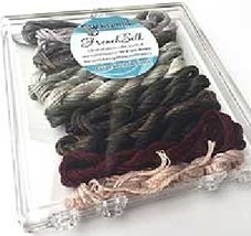 Neutral French Silk Set Limited Edition Collection cross stitch Kreinik  - $19.80